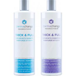 DermaChange - Thick and Full набор шампуня и кондиционера DermaChange - 1