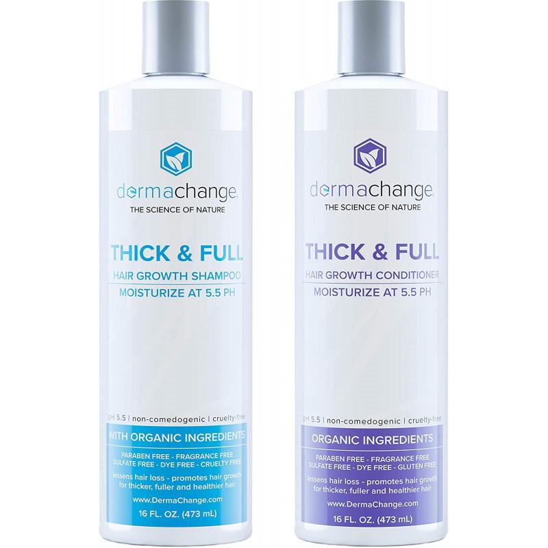 DermaChange - Thick and Full Shampoo & Conditioner Set DermaChange - 1