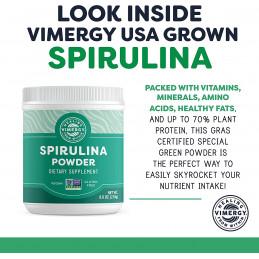 Spirulina, USA Pěstovaná Spirulina Vimergy® - 3