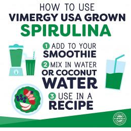 Spirulina, USA Pěstovaná Spirulina Vimergy® - 2