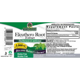 Bristly taiga root, Eleuthero root Nature's Answer® - 2