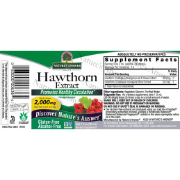 Hawthorn berries, Hawthorn berries Nature's Answer® - 2