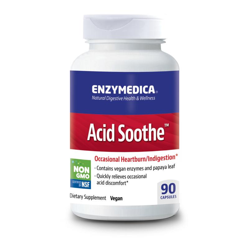 Acid Soothe ™ 90 Enzymedica® - 1