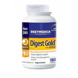 Digest Gold ™ ATPro 180 Enzymedica® - 1