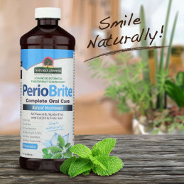 PerioBrite® Natural Mouthwash Alcohol Free Wintermint Nature's Answer® - 3