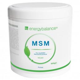MSM OptiMSM 100% čistý prášek 500 g EnergyBalance® - 1