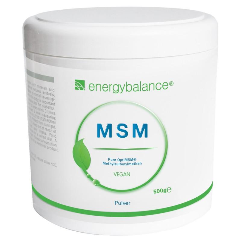 MSM OptiMSM 100% pure powder 500g EnergyBalance® - 1