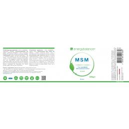 MSM OptiMSM 100% pure powder 500g EnergyBalance® - 2