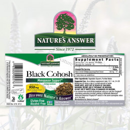 Nature's Answer - Black Cohosh Nature's Answer® - 2