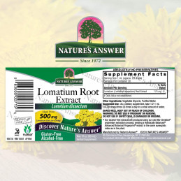 Nature's Answer - Lomatium Root Extract Nature's Answer® - 2