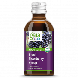 Gaia Herbs - GaiaKids® Black Elderberry Syrup Gaia Herbs® - 1