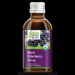 Gaia Herbs - GaiaKids ® sirup z čiernej bazy Gaia Herbs® - 1