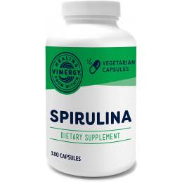 Kapsula Spirulina, USA Pestované čiapky Spiruliny Vimergy® - 1