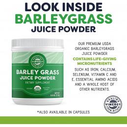 Barleygrass Juice, Organic Barleygrass Juice Vimergy® - 3