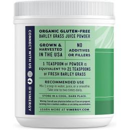 Barleygrass Juice, Organic Barleygrass Juice Vimergy® - 5