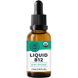 Vitamin B12, Organic Liquid B12 - 115ml Vimergy® - 1