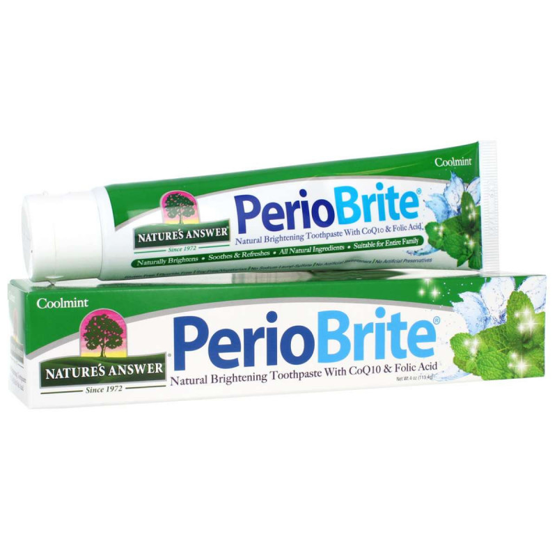 Periobrite toothpaste CoolMint, Periobrite toothpaste cool mint Nature's Answer® - 1