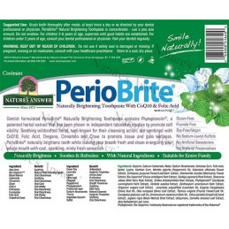 Periobrite toothpaste CoolMint, Periobrite toothpaste cool mint Nature's Answer® - 3